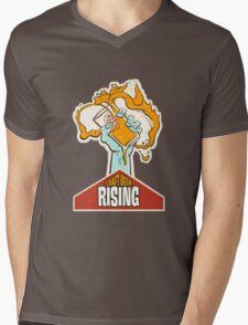 Craft Beer Rising T-Shirt Mens V-Neck T-Shirt