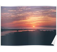 Sunrise on the New England Coast Poster