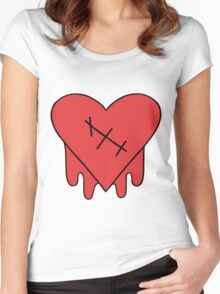 Gravity Falls - Robbie V's Edgy on Purpose heart Women's Fitted Scoop T-Shirt
