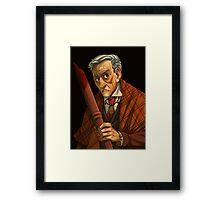 Peter Vincent, Vampire Killer Framed Print