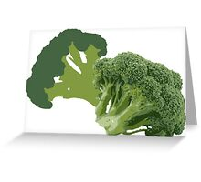 But Broccoli Loves You! Greeting Card