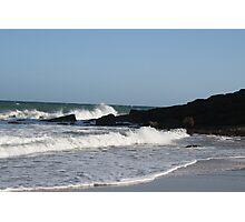 Foamy seas Photographic Print