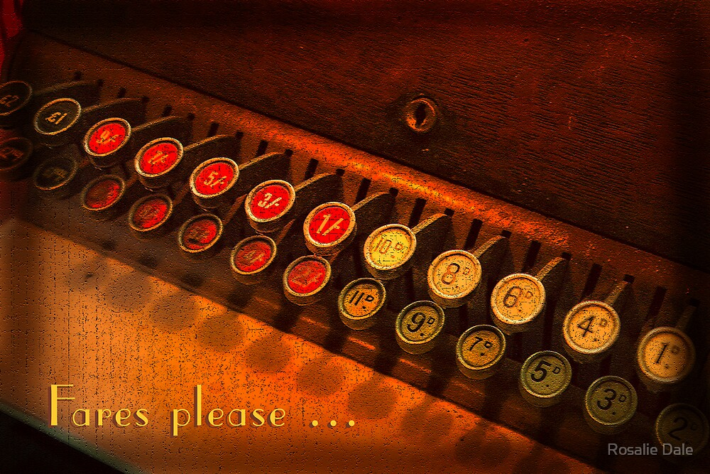 Fares please ... by Rosalie Dale