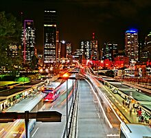 Brisbane Nightscape by mindy23