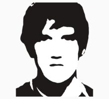 Bo Burnham Stencil by jaredcheeda