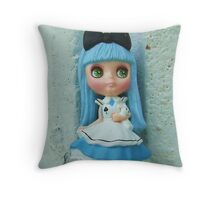Prelude to 'Alice In Wonderland' Throw Pillow