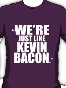 Kevin Bacon GOTG, WHITE T-Shirt