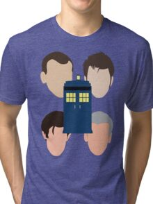 The Faces Of The Doctor Tri-blend T-Shirt