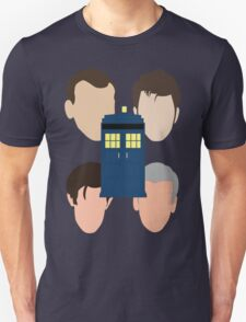The Faces Of The Doctor T-Shirt