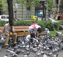 Eaten by Pigeons by KellyRigby