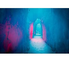 Ice Cave Photographic Print