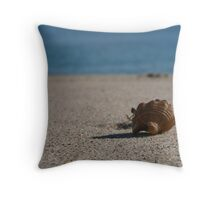 Lone Crab Throw Pillow
