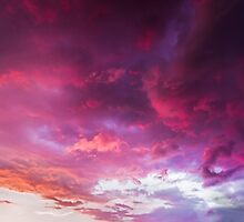 Glorious Evening Sky by Kenneth Keifer