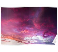 Glorious Evening Sky Poster