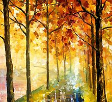 Hidden Path — Buy Now Link - www.etsy.com/listing/217574495 by Leonid  Afremov