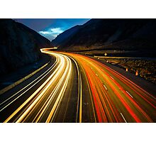 Rapid Movements Photographic Print