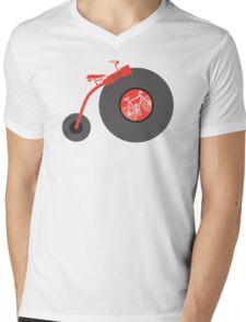 Penny Vinyl Mens V-Neck T-Shirt