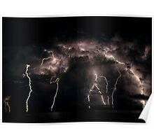 When Lightening Strikes  Poster