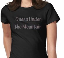 Queen Under the Mountain - Nebula Womens Fitted T-Shirt