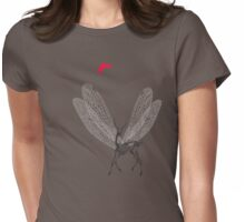 deer Womens Fitted T-Shirt