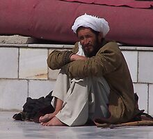 Afghan Resting by Martina Nicolls