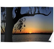 Early morning at  Lake Yarrie Poster