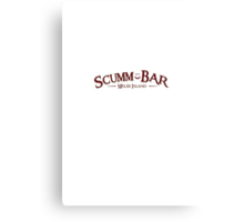 Monkey Island - Scumm Bar  Canvas Print