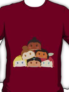 Princess Tsum Tsum Pile T-Shirt