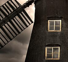 North Leverton Windmill - Close up by Ann-Marie Metcalfe