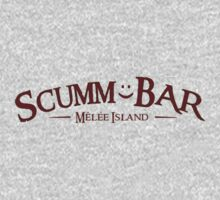 Monkey Island - Scumm Bar  One Piece - Long Sleeve