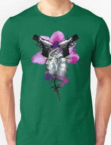 Guns Are Drawn Unisex T-Shirt
