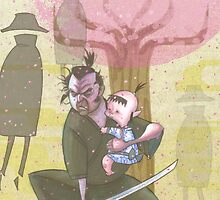 Lone Wolf and Cub by victorroa
