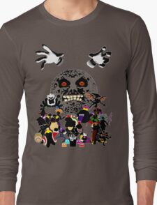 Villains of Nintendo Long Sleeve T-Shirt