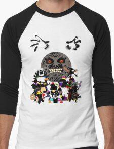Villains of Nintendo Men's Baseball ¾ T-Shirt