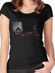 City Murder Women's Fitted Scoop T-Shirt