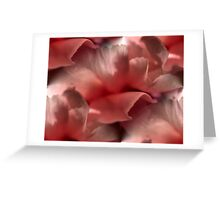 TISSUE FOR MY TEARS Greeting Card