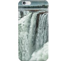 Iguazu Falls - Over the Edge  iPhone Case/Skin