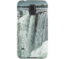 Iguazu Falls - Over the Edge  Samsung Galaxy Case/Skin