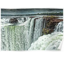 Iguazu Falls - Over the Edge  Poster