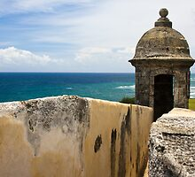 Walls of El Morro by David Chappell