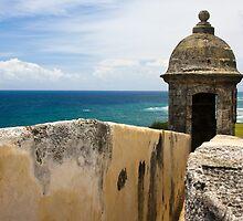 Walls of El Morro by David Chappell