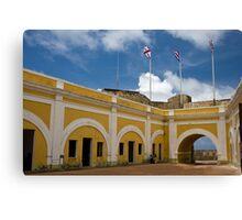 With San Felipe del Morro Canvas Print
