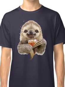 SLOTH & SOFT DRINK Classic T-Shirt