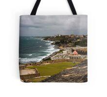 Puerto Rico Coastline 2 Tote Bag