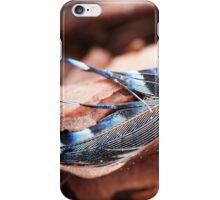 Eurasian Jay Feather iPhone Case/Skin