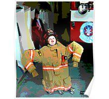 Wanna Be A Fireman Poster
