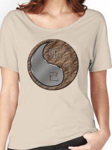 Rabbit Yin Earth Women's Relaxed Fit T-Shirt