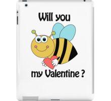 bee my Valentine iPad Case/Skin