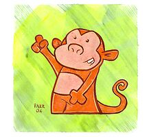 Monkey by shiro