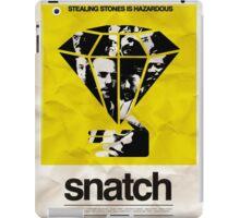 snatch minimalist poster iPad Case/Skin
